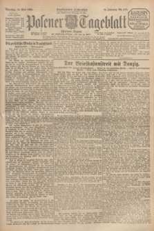 Posener Tageblatt (Posener Warte). Jg.64, Nr. 115 (19 Mai 1925) + dod.