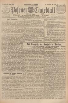 Posener Tageblatt (Posener Warte). Jg.64, Nr. 116 (20 Mai 1925) + dod.