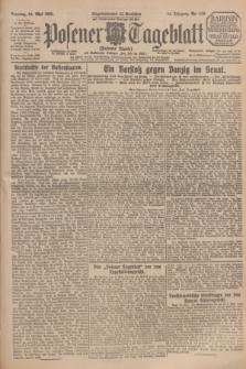 Posener Tageblatt (Posener Warte). Jg.64, Nr. 119 (24 Mai 1925) + dod.
