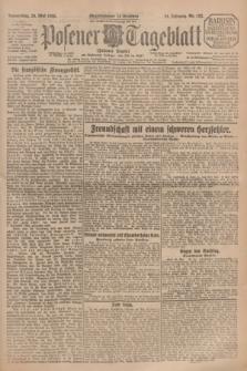Posener Tageblatt (Posener Warte). Jg.64, Nr. 122 (28 Mai 1925) + dod.