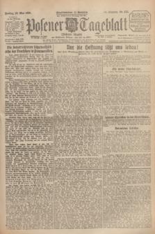 Posener Tageblatt (Posener Warte). Jg.64, Nr. 123 (29 Mai 1925) + dod.