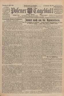 Posener Tageblatt (Posener Warte). Jg.64, Nr. 165 (21 Juli 1925) + dod.