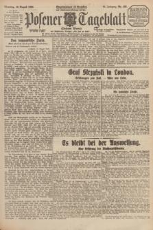 Posener Tageblatt (Posener Warte). Jg.64, Nr. 188 (18 August 1925) + dod.