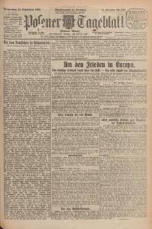 Posener Tageblatt (Posener Warte). Jg.64, Nr. 220 (24 September 1925) + dod.