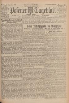 Posener Tageblatt (Posener Warte). Jg.64, Nr. 224 (29 September 1925) + dod.