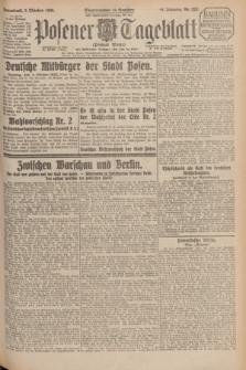 Posener Tageblatt (Posener Warte). Jg.64, Nr. 228 (3 Oktober 1925) + dod.