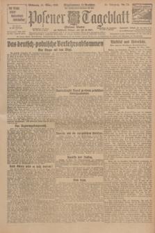Posener Tageblatt (Posener Warte). Jg.65, Nr. 74 (31 März 1926) + dod.
