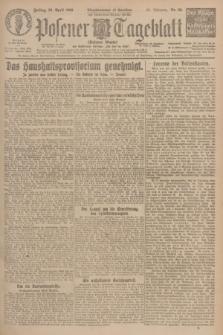 Posener Tageblatt (Posener Warte). Jg.65, Nr. 98 (30 April 1926) + dod.