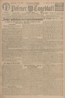 Posener Tageblatt (Posener Warte). Jg.65, Nr. 99 (1 Mai 1926) + dod.