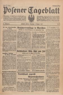 Posener Tageblatt. Jg.76, Nr. 2 (3 Januar 1937) + dod.
