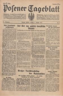 Posener Tageblatt. Jg.76, Nr. 5 (8 Januar 1937) + dod.