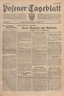 Posener Tageblatt. Jg.76, Nr. 7 (10 Januar 1937) + dod.