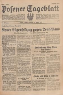 Posener Tageblatt. Jg.76, Nr. 8 (12 Januar 1937) + dod.