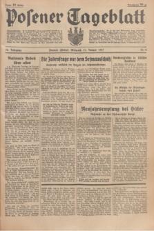 Posener Tageblatt. Jg.76, Nr. 9 (13 Januar 1937) + dod.