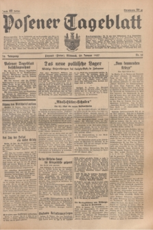 Posener Tageblatt. Jg.76, Nr. 15 (20 Januar 1937) + dod.