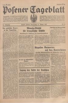 Posener Tageblatt. Jg.76, Nr. 16 (21 Januar 1937) + dod.