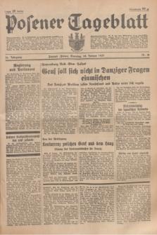 Posener Tageblatt. Jg.76, Nr. 19 (24 Januar 1937) + dod.