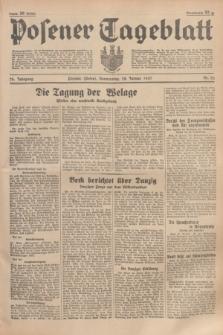 Posener Tageblatt. Jg.76, Nr. 22 (28 Januar 1937) + dod.