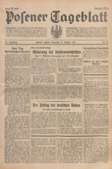 Posener Tageblatt. Jg.76, Nr. 25 (31 Januar 1937) + dod.