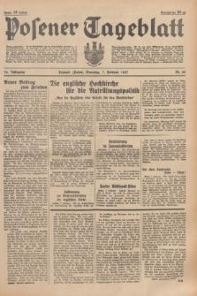 Posener Tageblatt. Jg.76, Nr. 30 (7 Februar 1937) + dod.