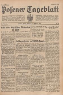 Posener Tageblatt. Jg.76, Nr. 32 (10 Februar 1937) + dod.
