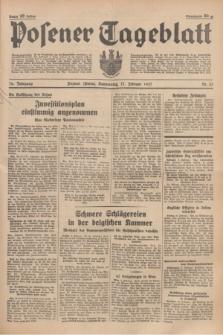 Posener Tageblatt. Jg.76, Nr. 33 (11 Februar 1937) + dod.