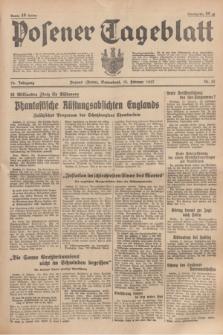 Posener Tageblatt. Jg.76, Nr. 35 (13 Februar 1937) + dod.