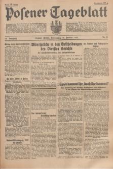 Posener Tageblatt. Jg.76, Nr. 39 (18 Februar 1937) + dod.