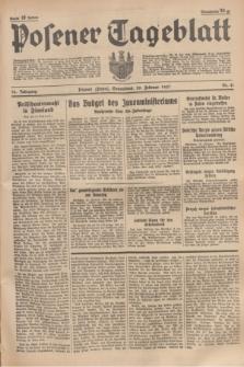 Posener Tageblatt. Jg.76, Nr. 41 (20 Februar 1937) + dod.