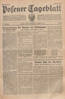 Posener Tageblatt. Jg.76, Nr. 44 (24 Februar 1937) + dod.
