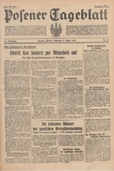 Posener Tageblatt. Jg.76, Nr. 50 (3 März 1937) + dod.