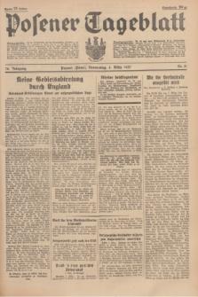 Posener Tageblatt. Jg.76, Nr. 51 (4 März 1937) + dod.