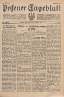 Posener Tageblatt. Jg.76, Nr. 60 (14 März 1937) + dod.
