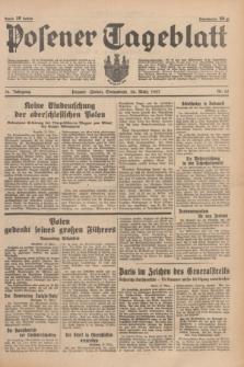 Posener Tageblatt. Jg.76, Nr. 65 (20 März 1937) + dod.