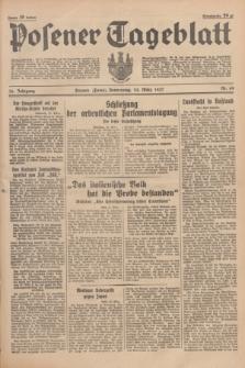 Posener Tageblatt. Jg.76, Nr. 69 (25 März 1937) + dod.