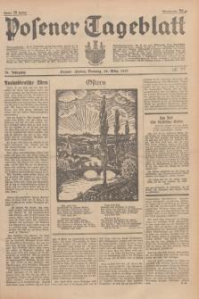 Posener Tageblatt. Jg.76, Nr. 71 (28 März 1937) + dod.