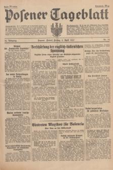 Posener Tageblatt. Jg.76, Nr. 74 (2 April 1937) + dod.