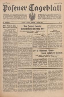 Posener Tageblatt. Jg.76, Nr. 78 (7 April 1937) + dod.