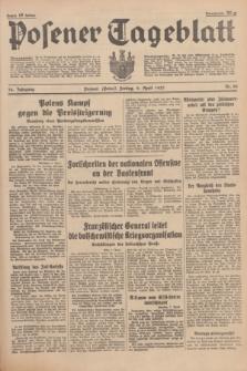 Posener Tageblatt. Jg.76, Nr. 80 (9 April 1937) + dod.