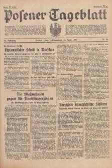 Posener Tageblatt. Jg.76, Nr. 81 (10 April 1937) + dod.