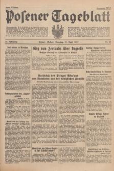 Posener Tageblatt. Jg.76, Nr. 83 (13 April 1937) + dod.
