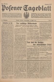 Posener Tageblatt. Jg.76, Nr. 85 (15 April 1937) + dod.