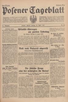 Posener Tageblatt. Jg.76, Nr. 92 (23 April 1937) + dod.