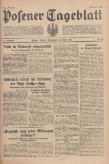 Posener Tageblatt. Jg.76, Nr. 93 (24 April 1937) + dod.