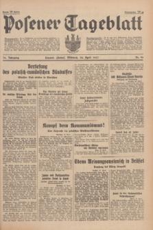 Posener Tageblatt. Jg.76, Nr. 96 (28 April 1937) + dod.