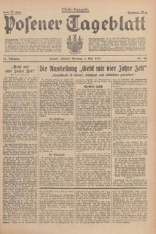 Posener Tageblatt. Jg.76, Nr. 100 (2 Mai 1937) + dod.
