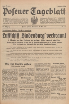 Posener Tageblatt. Jg.76, Nr. 103 (8 Mai 1937) + dod.