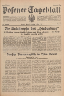 Posener Tageblatt. Jg.76, Nr. 104 (9 Mai 1937) + dod.