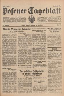 Posener Tageblatt. Jg.76, Nr. 105 (11 Mai 1937) + dod.