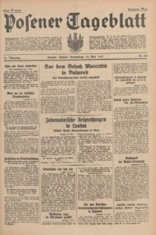 Posener Tageblatt. Jg.76, Nr. 112 (20 Mai 1937) + dod.